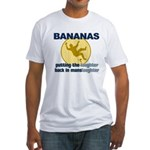 Bananas Fitted T-Shirt