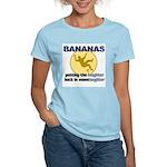 Bananas Women's Pink T-Shirt