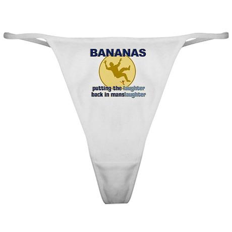 Bananas Classic Thong
