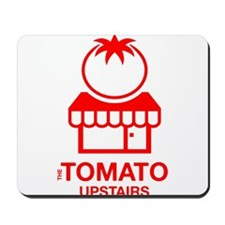 The Tomato Upstairs Red Mousepad