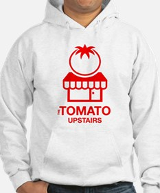 The Tomato Upstairs Red Hoodie