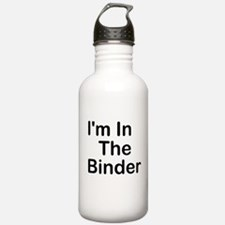 I'm In The Binder Water Bottle