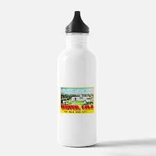 Denver Colorado Greetings Water Bottle