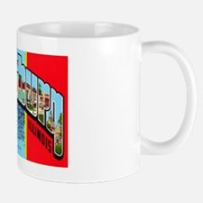 Galesburg Illinois Greetings Mug