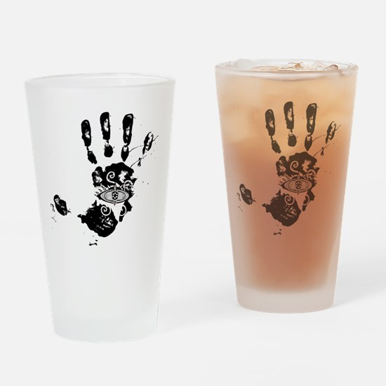 Hand of Fatima Drinking Glass