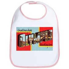 Olympia Washington Greetings Bib