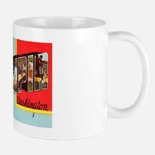 Olympia Washington Greetings Mug