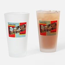 Olympia Washington Greetings Drinking Glass