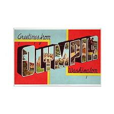 Olympia Washington Greetings Rectangle Magnet (10