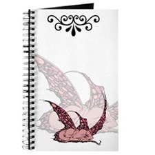 Sleeping Crimson Dragonette Journal