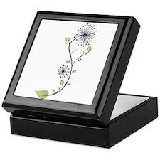 Flower Doodle S Keepsake Box