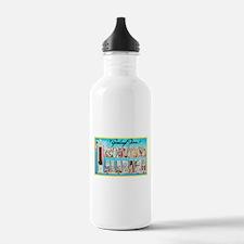 Tuscaloosa Alabama Greetings Water Bottle