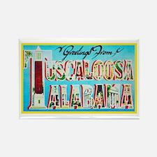 Tuscaloosa Alabama Greetings Rectangle Magnet