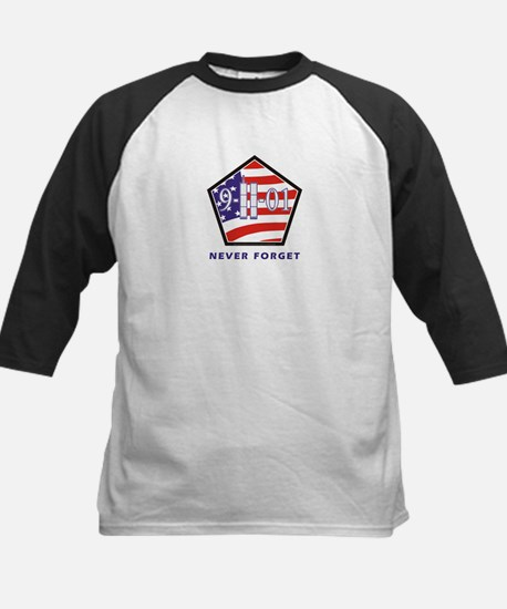 NEVER Forget - Kids Baseball Jersey