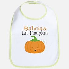 Babcias Little Pumpkin Bib