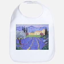 Lavender Farm Bib