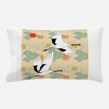 Soaring Cranes - Pillow Case