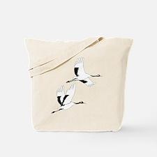 Soaring Cranes - Tote Bag