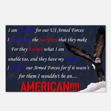 For I AM An AMERICAN!!!! Postcards (Package of 8)