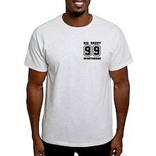 BIG DADDY 99 Ash Grey T-Shirt