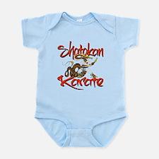 Shotokan Karate Dragon Design Infant Bodysuit