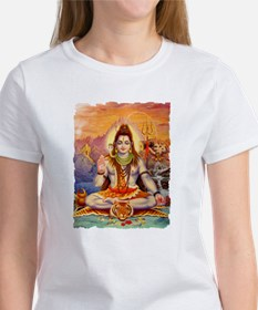 Lord Shiva Meditating Women's T-Shirt