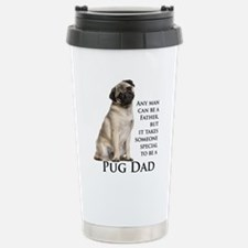 Pug Dad Travel Mug