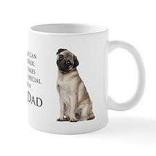 Pug Dad Small Mugs