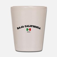Baja California Shot Glass
