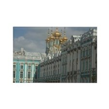 Catherine's Palace Rectangle Magnet
