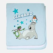 Bernard Bear baby blanket