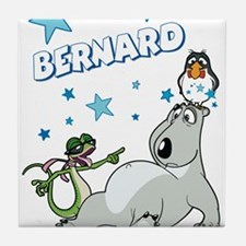 Bernard Bear Tile Coaster