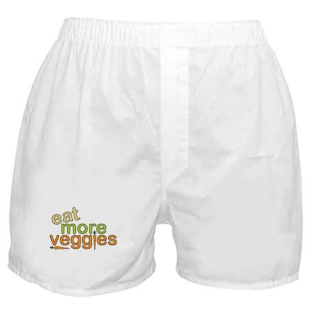 Eat More Veggies Boxer Shorts