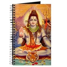 Lord Shiva Meditating Journal