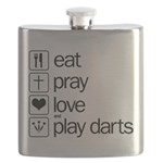eat play love and play darts Flask
