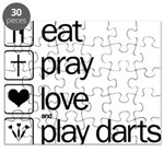 eat play love and play darts Puzzle