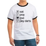 eat play love and play darts Ringer T