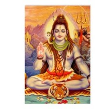 Lord Shiva Meditating Postcards (Package of 8)