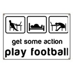Play football Banner