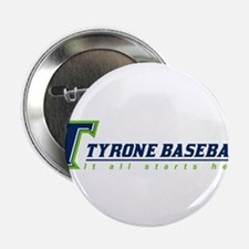 """Tyrone Youth Baseball 2.25"""" Button (10 pack)"""