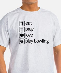 eat and play bowling T-Shirt
