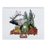 Wildlife Wall Calendar