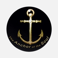 The Anchor of the Soul Ornament (Round)