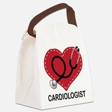 Cardiologist Gift Canvas Lunch Bag