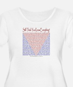 think still Plus Size T-Shirt