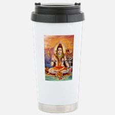 Lord Shiva Meditating Travel Mug