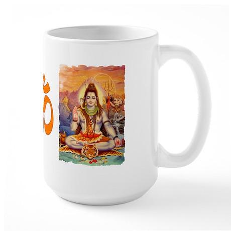 Lord Shiva Meditating Large Mug