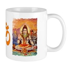 Lord Shiva Meditating Small Mugs