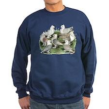 Classic Frill Pigeons Sweatshirt