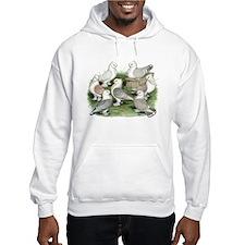 Classic Frill Pigeons Hoodie